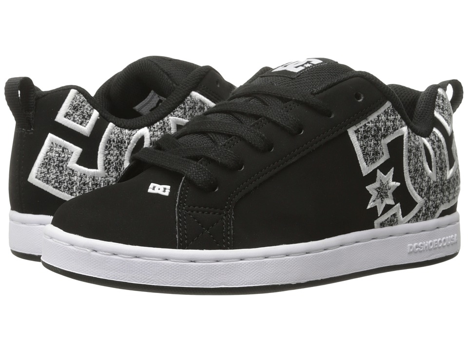 DC - Court Graffik SE W (Black/Armor/Flannel) Women's Skate Shoes