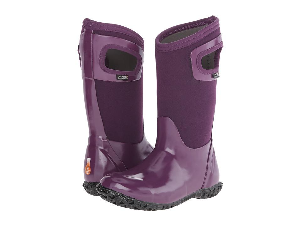 Bogs Kids - North Hampton (Toddler/Little Kid/Big Kid) (Purple) Girls Shoes
