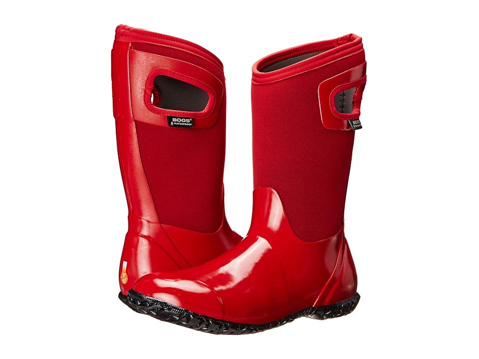 Bogs Kids - North Hampton (Toddler/Little Kid/Big Kid) (Red) Girls Shoes