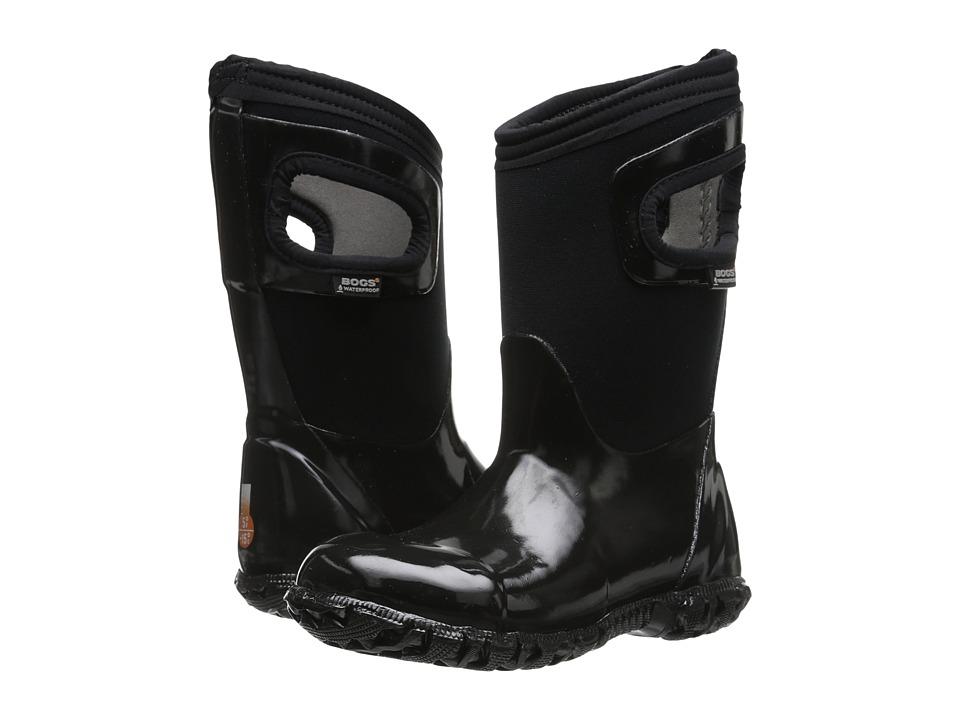 Bogs Kids - North Hampton (Toddler/Little Kid/Big Kid) (Black) Girls Shoes