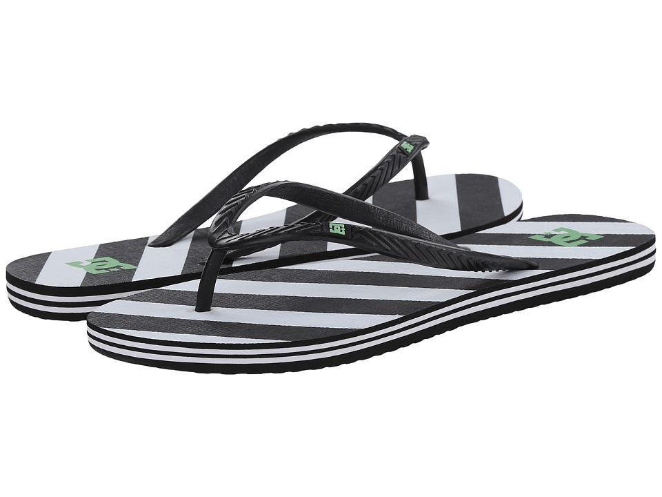 DC - Spray Graffik W (Black/White/Black) Women's Skate Shoes
