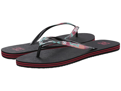 DC - Spray SE (Black Multi) Women's Sandals
