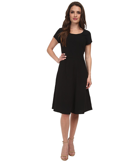 Pendleton - Petite Kristen Dress (Black Travel Tricotine) Women's Dress