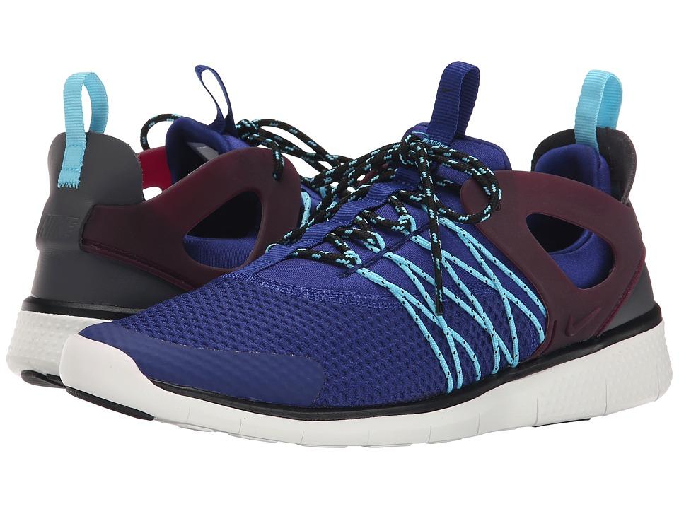 Nike - Free Viritous (Deep Royal Blue/Mulberry/Tide Pool Blue/Wolf Grey) Women