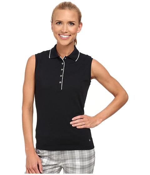 Bogner - Ivola Sleeveless Polo Shirt (Dark Blue/White) Women