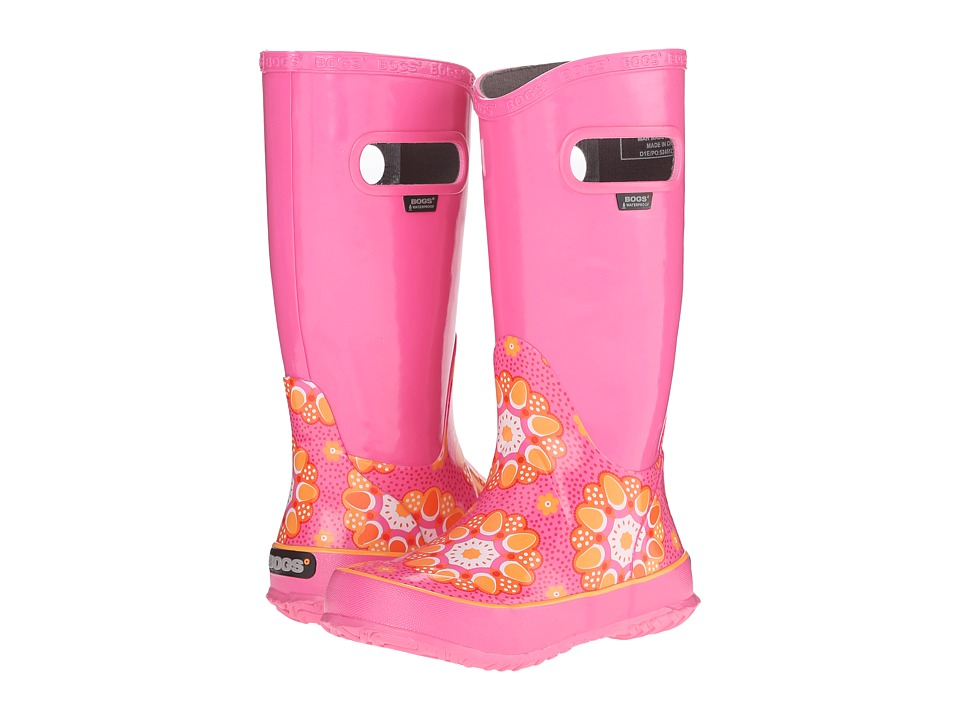 Bogs Kids - Rain Boot Kaleidoscope (Toddler/Little Kid/Big Kid) (Pink Multi) Girls Shoes