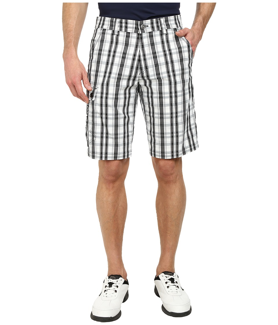 Bogner - Diogo-G Shorts (White/Black/Grey) Men's Shorts