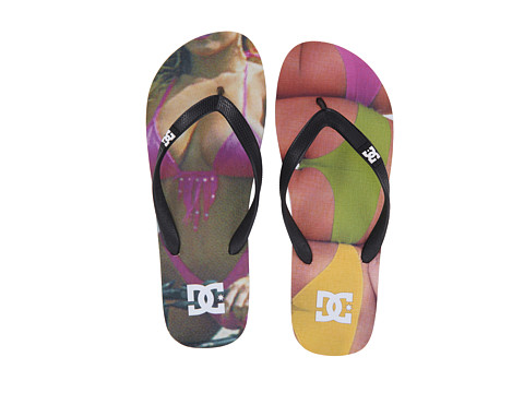 DC - Spray Graffik (Thunder) Men's Skate Shoes