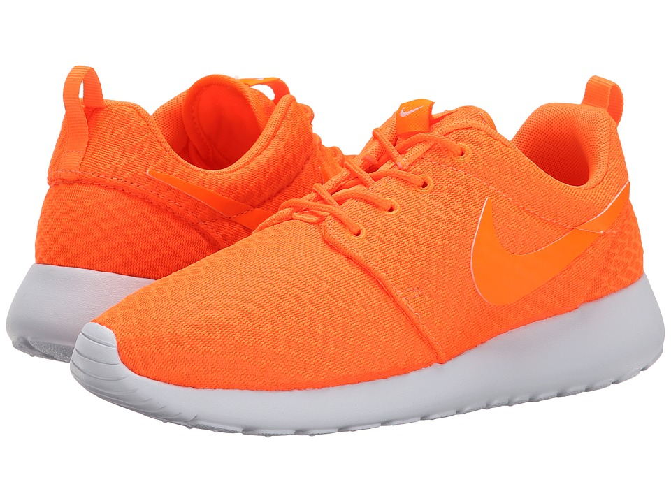 Nike - Roshe Run (Total Orange/White/Total Orange) Women