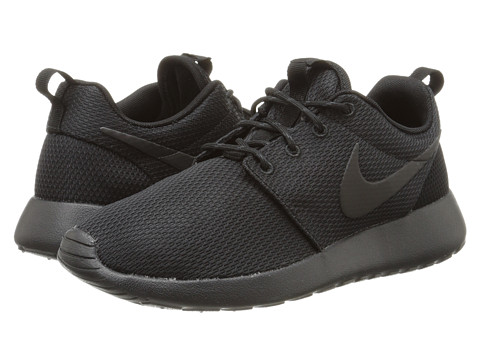 Nike - Roshe Run (Black/Anthracite/Black) Women's Shoes