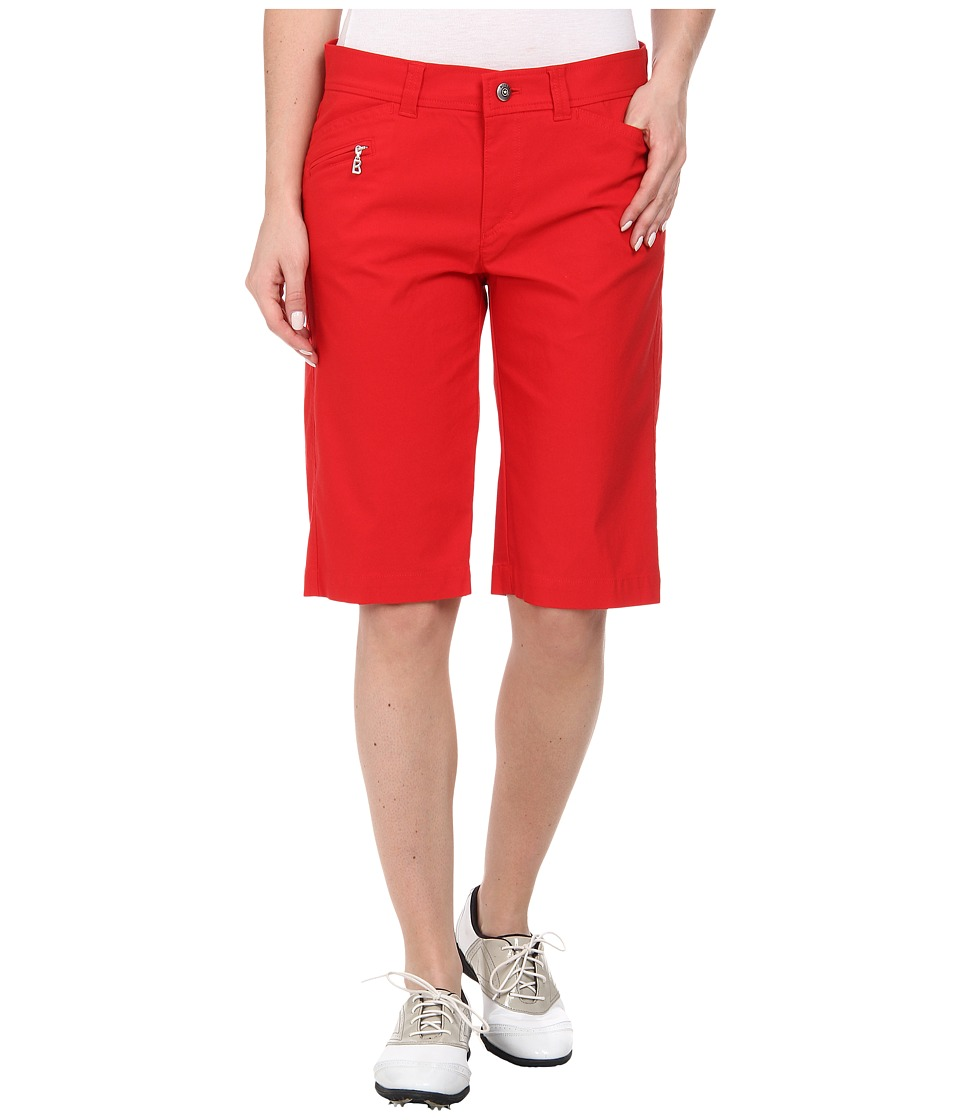 Bogner - Laury-G Bermuda Shorts (Red) Women's Shorts plus size,  plus size fashion plus size appare