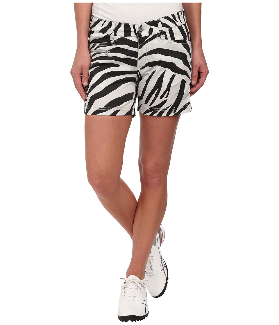 Bogner - Fiora-G Zebra Print Shorts (Dusty Sand/Black) Women's Shorts