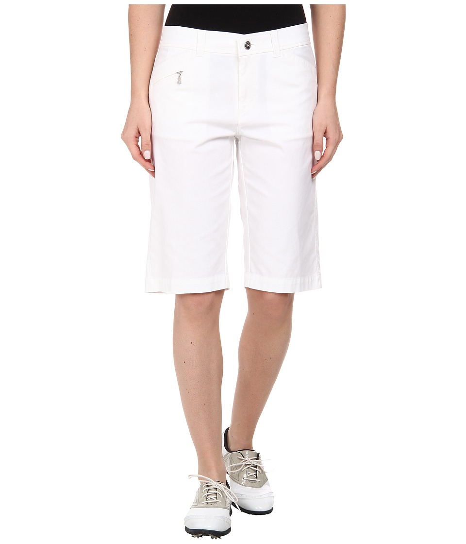 Bogner - Laury-G Bermuda Shorts (White) Women's Shorts plus size,  plus size fashion plus size appare