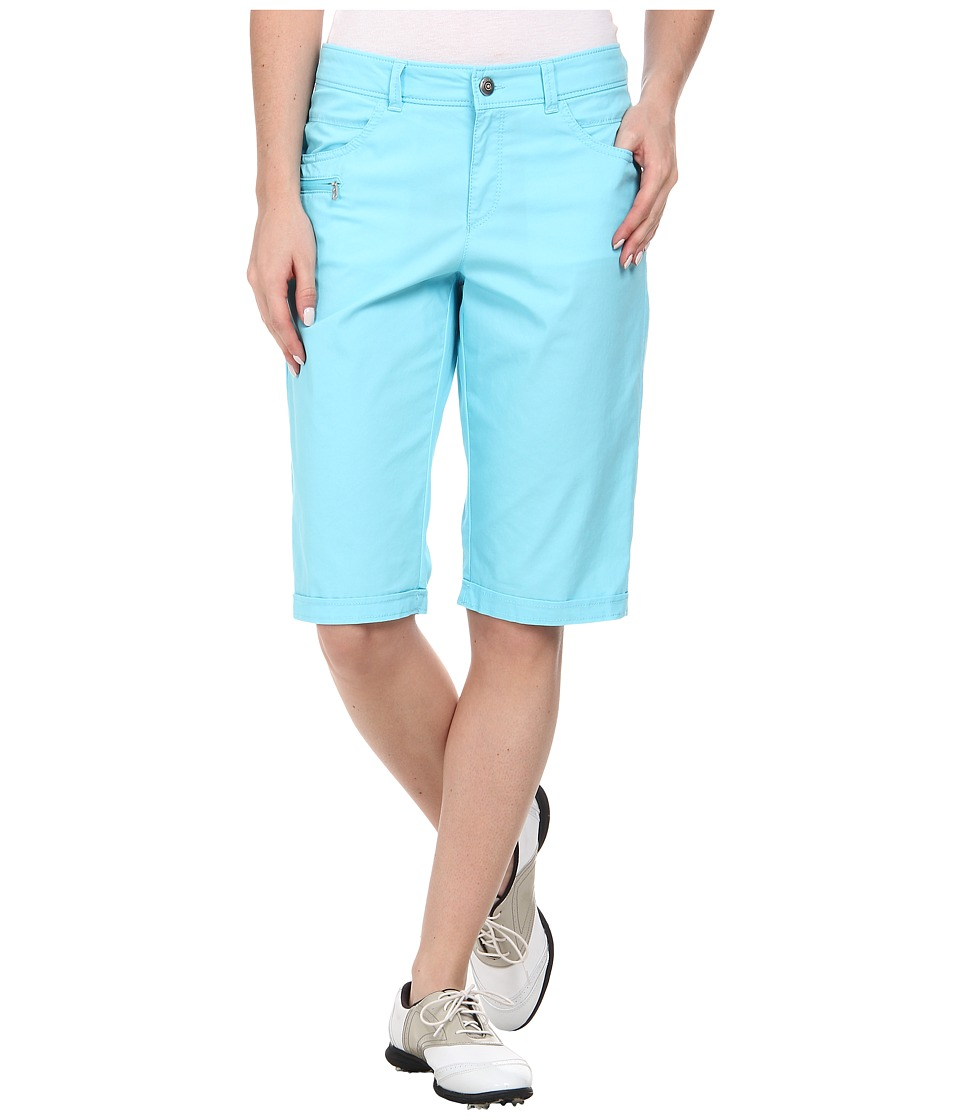 Bogner - Seda-G Bermuda Shorts (Turquoise Blue) Women's Shorts plus size,  plus size fashion plus size appare