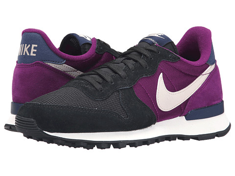 Nike - Internationalist (Black/Mulberry/Midnight Navy/String) Women's Shoes