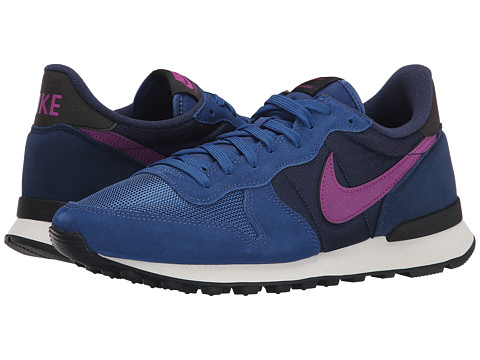 Nike - Internationalist (Dark Royal Blue/Midnight Navy/Black/Purple Dusk) Women