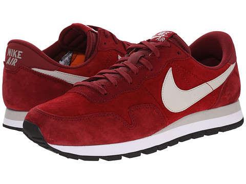 Nike - Air Pegasus 83 Leather (Valiant Red/Team Red/White/Lunar Grey) Men