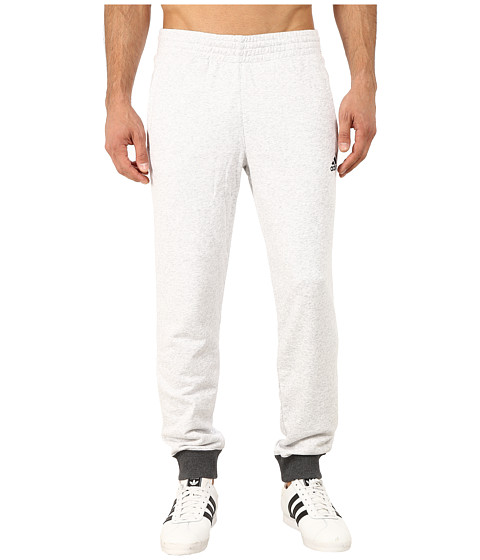 adidas - Everyday Sweatpants (Light Grey Heather/Dark Grey Heather) Men's Casual Pants