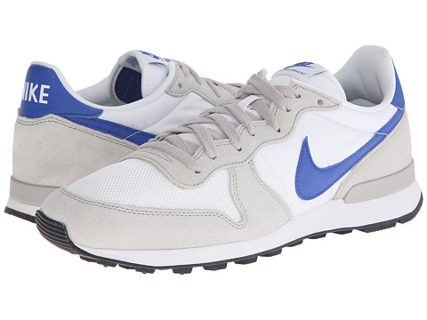 Nike - Internationalist (White/Neutral Grey/White/Game Royal) Men's Shoes