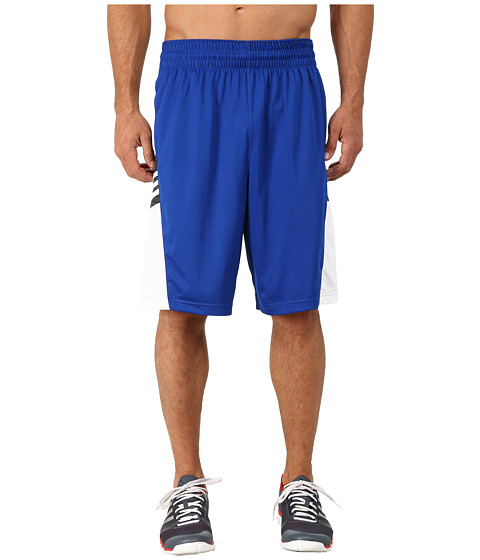 adidas - Team Speed Practice Shorts (Collegiate Royal/DGH Solid Grey/White) Men's Shorts