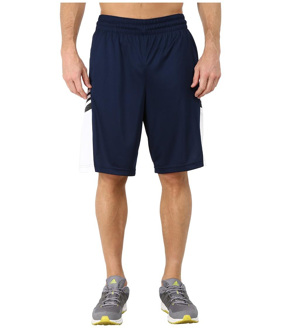 adidas - Team Speed Practice Shorts (Collegiate Navy/DGH Solid Grey/White) Men's Shorts