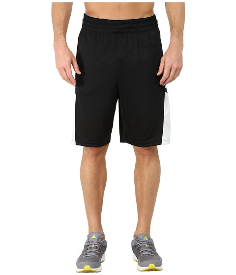 adidas - Team Speed Practice Shorts (Black/Clear Grey/DGH Solid Grey) Men