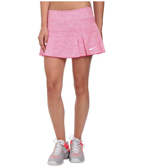 Nike - Victory Printed Skort (Vivid Pink/Vivid Pink) Women's Skort