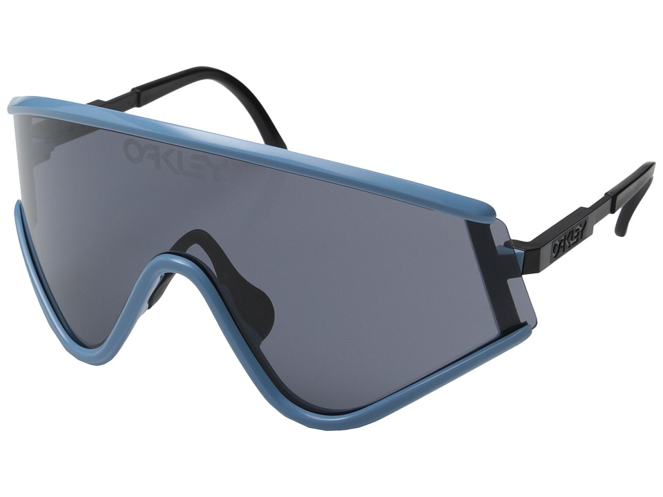 Oakley - Special Edition Heritage Eyeshade (Blue w/ Grey) Sport Sunglasses
