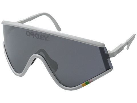 Oakley - Eyeshade Tour de France Edition (White w/ Black Iridium) Sport Sunglasses