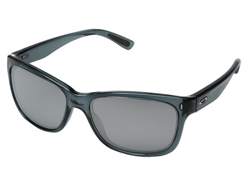 Oakley - Forehand (Black Snowflake w/ Chrome Iridium) Sport Sunglasses
