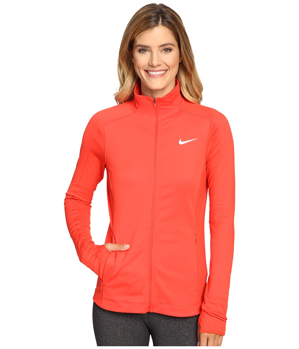 Nike - Thermal Full-Zip Running Jacket (Black/Black/Reflective Silver) Women's Jacket