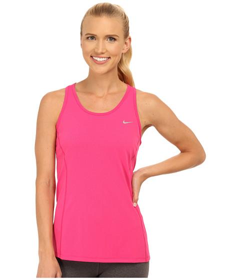Nike - Dri-FIT Contour Tank Top (Vivid Pink/Reflective Silver) Women