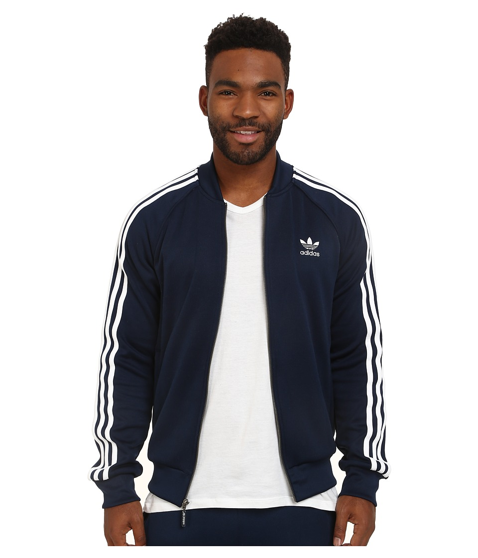 ... UPC 888596429111 product image for adidas Originals - Superstar Track  Top (Collegiate Navy White 64a6d4097