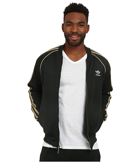 adidas Originals - Superstar Track Top (Jungle Ink/Hemp) Men