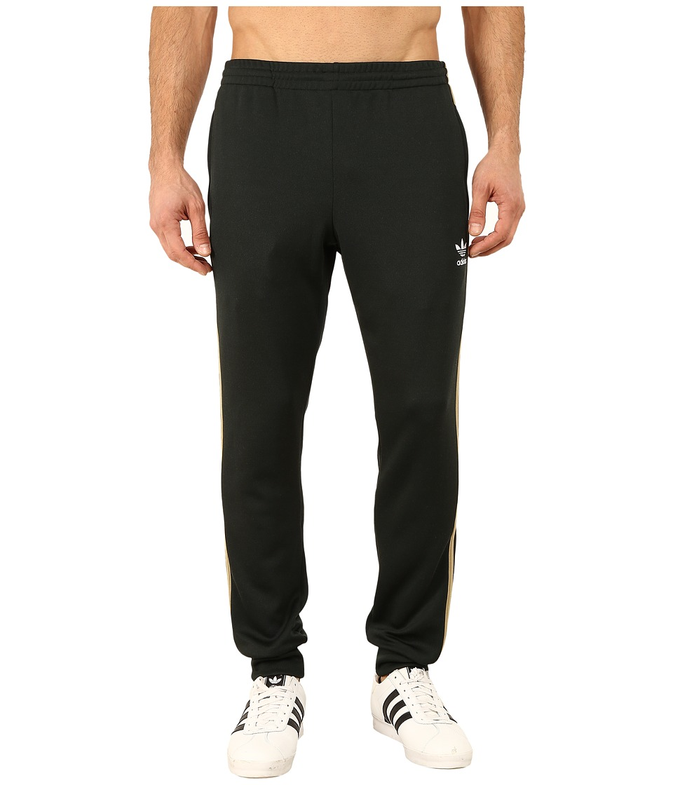 adidas Originals - Superstar Cuffed Track Pants (Jungle Ink/Hemp) Men