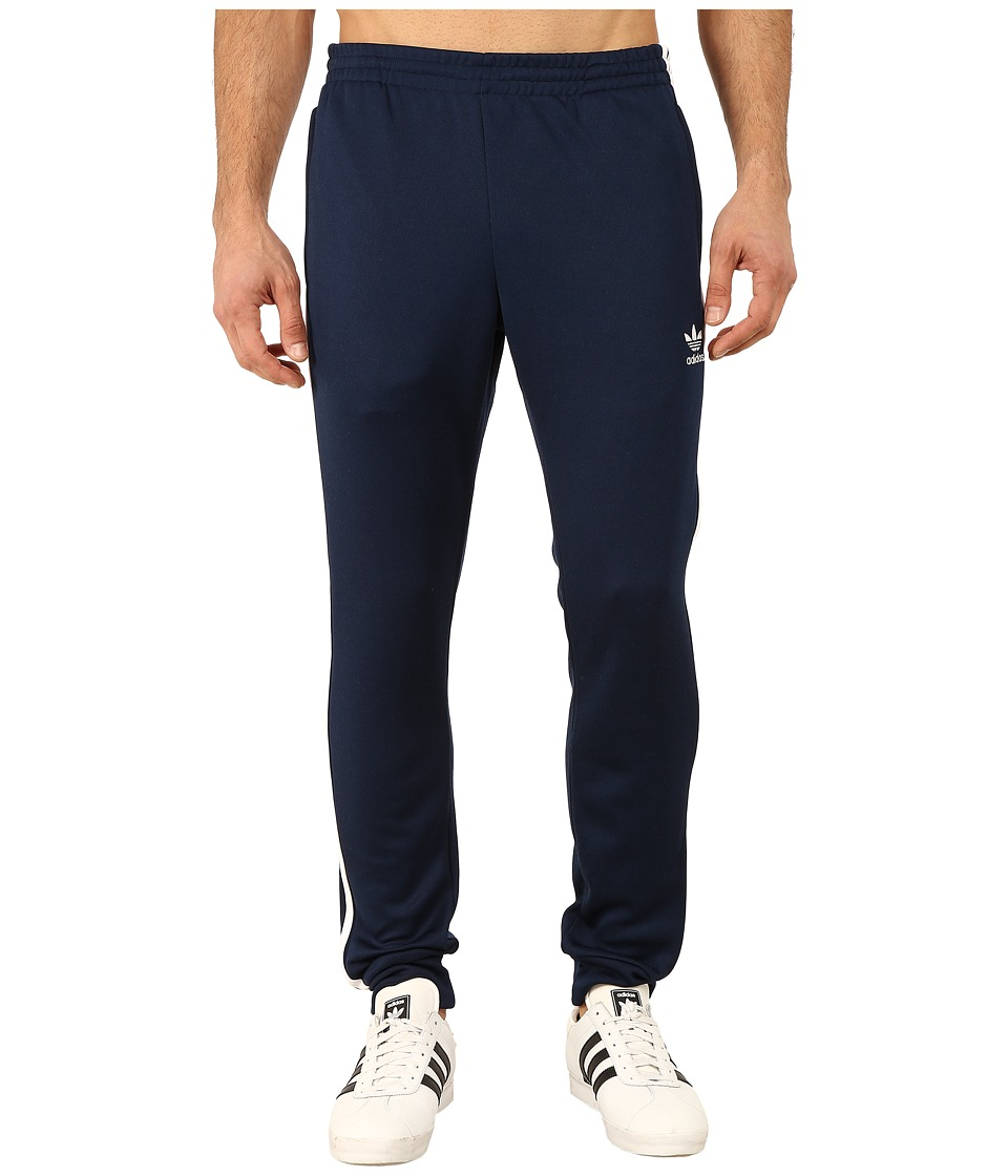 adidas Originals - Superstar Cuffed Track Pants (Collegiate Navy/White) Men