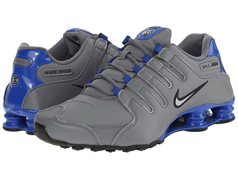 Nike - Shox NZ (Cool Grey/Game Royal/Dark Obsidian/Metallic Silver) Men