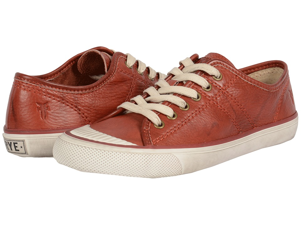 Frye - Betty Low Lace (Burnt Red Dakota) Women's Lace up casual Shoes