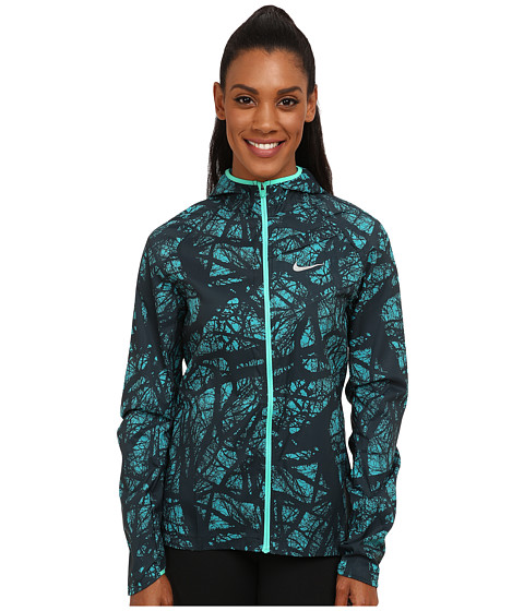 Nike - Enchanted Impossible Light Jacket (Radiant Emerald/Emerald Glow/Reflective Silver) Women