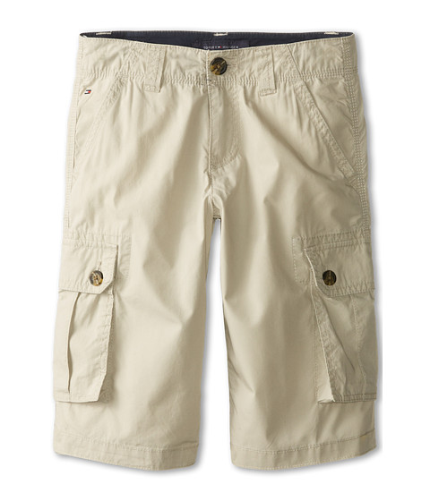 Tommy Hilfiger Kids - Back Country Cargo Short (Big Kids) (Light Buff) Boy's Shorts