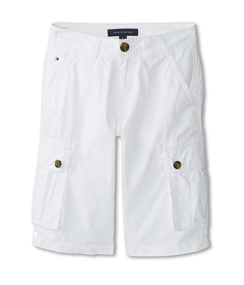 Tommy Hilfiger Kids - Back Country Cargo Short (Big Kids) (White) Boy's Shorts
