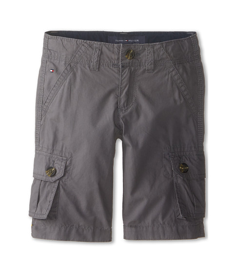 Tommy Hilfiger Kids - Back Country Cargo Short (Toddler/Little Kids) (As Is Grey) Boy's Shorts