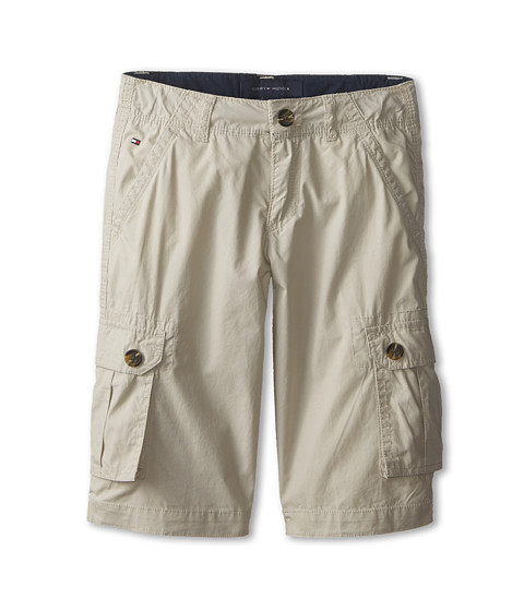 Tommy Hilfiger Kids - Back Country Cargo Short (Toddler/Little Kids) (Light Buff) Boy's Shorts