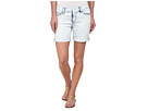 DKNY Jeans Rip and Repair Bleecker Boyfriend Shorts