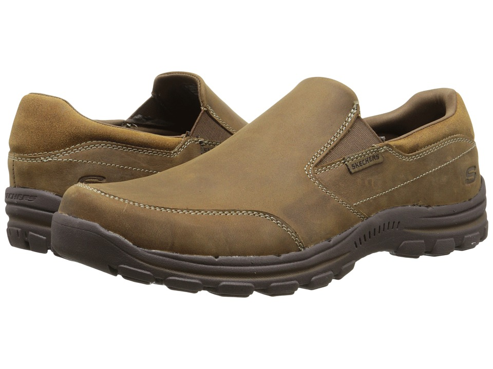 SKECHERS Relaxed Fit Braver Linares (Desert) Men