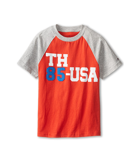 Tommy Hilfiger Kids - Short Sleeve TH85USA (Toddler/Little Kids) (Laser Beam) Boy's T Shirt