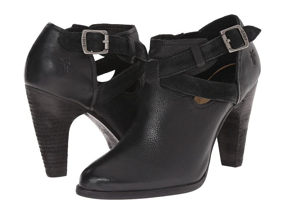 Frye - Celeste Artisan Shootie (Black Washed Vintage) High Heels