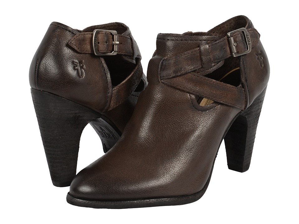 Frye - Celeste Artisan Shootie (Charcoal Washed Vintage) High Heels