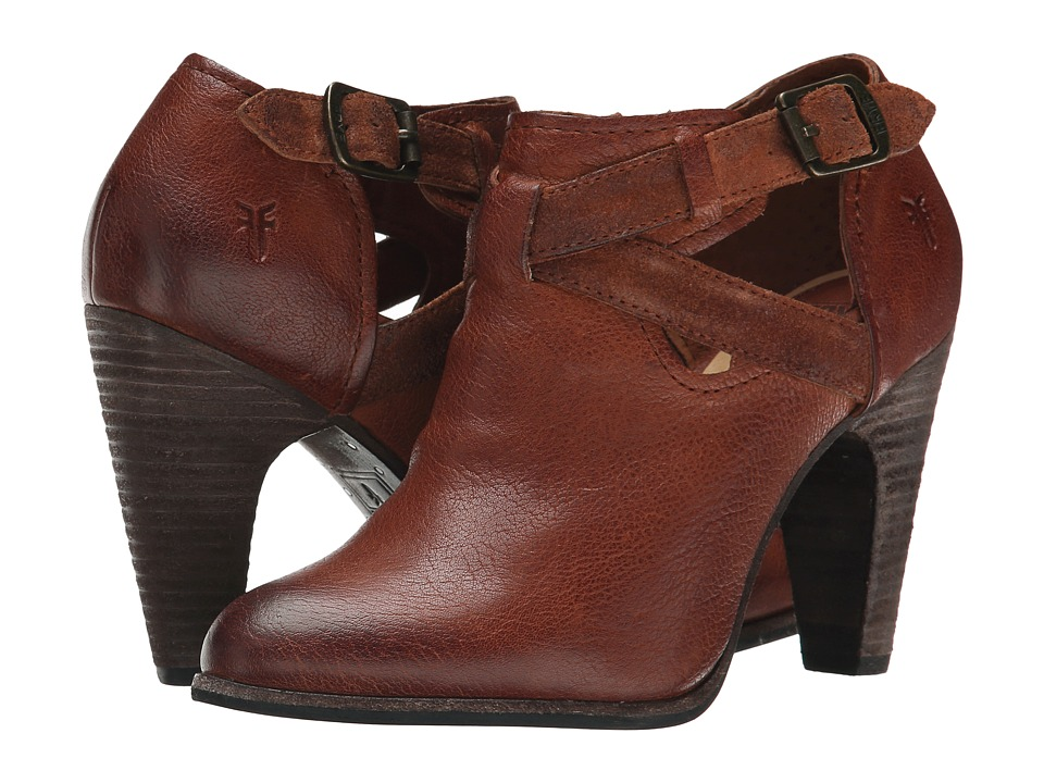 Frye - Celeste Artisan Shootie (Whiskey Washed Vintage) High Heels