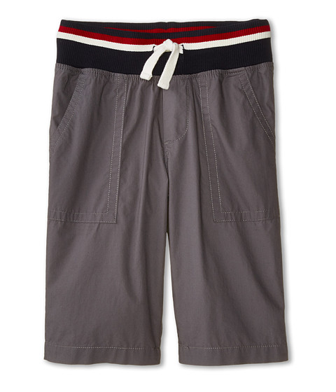 Tommy Hilfiger Kids - Mickey Rib Shorts (Big Kids) (As Is Grey) Boy